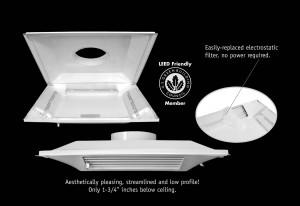 Perforated Diffuser & Steel back pan