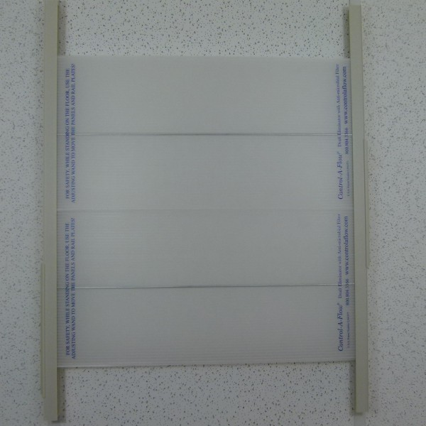 Control-A-Flow Draft Eliminator - with or without filter